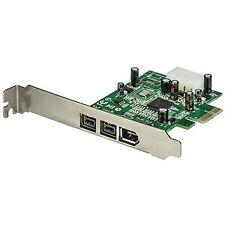 Startech adaptador tarjeta FireWire Pci-expr
