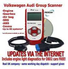 Audi A1 A2 A3 A4 A5 A6 A7 A8 Fault Code Reader scanner Engine ABS AIR BAG Reset