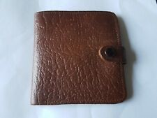 Vintage Real Leather Short Wallet Small Coin Pouch  Men