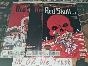 Secret Wars - Red Skull #1-3 (Marvel Comics, 2015, Complete Set, Battleworld)