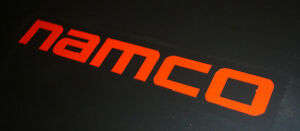 Namco (SMALL) - Game, gaming, decal, sticker, vinyl (RED)