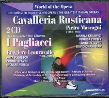 Cavalleria Rusticana / I Pagliacci - 2CD Fatbox - New & Sealed