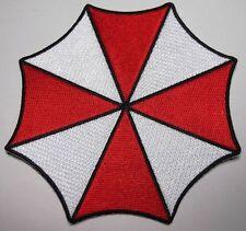 "RESIDENT EVIL Large JACKET UMBRELLA Corporation Logo Embroidered patch 5 1/4"""