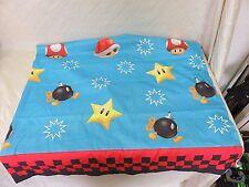 Nintendo Marioland Mario Bros. Polyester Twin Flat Bed Sheet Official 2012