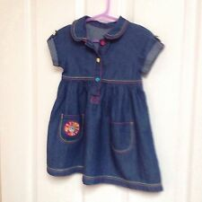 George Girls' No Pattern 100% Cotton Dresses (0-24 Months)