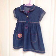 George Girls' No Pattern 100% Cotton Dresses (0-24 Months)