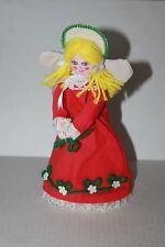 Vintage Silvestri Fabric Angel Christmas Tree Topper