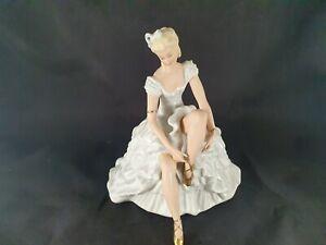 Porzellan Figur Tänzerin Wallendorf