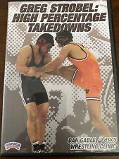 Greg Strobel High Percenatge Takedowns Wrestling Instructional