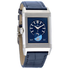 Jaeger LeCoultre Reverso Tribute Silver Dial Mens Hand Wound Watch Q3958420
