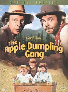 Apple Dumpling Gang DVD Disney Western Movie Kids Family - Region 1 USA Release