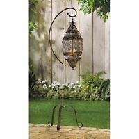 "Enchanting Floor Lantern Standing Lamp CandleHolder Garden Wedding Decor 41""Tall"
