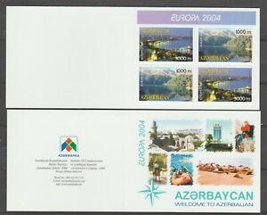 s36074 AZERBAIJAN 2004 EUROPA CEPT MNH** bokklet HOLIDAYS
