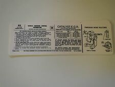 1979 BUICK CENTURY RIVIERA ELECTA LESABRE 403 4V ENGINE EMISSIONS DECAL