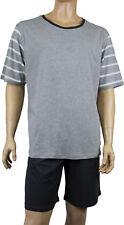 Herren Shorty Pyjama Schlafanzug 2 Teiler Hose Kurzarm Shirt Anker 4XL | eBay