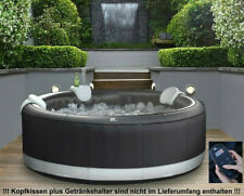 XXL Luxus Premium SPA Whirlpool aufblasbar Outdoor Indoor Pool Heizung 6 Pers...