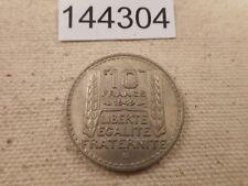 1949 B France 10 Francs Very Nice Collector Higher Grade Album Coin - # 144304