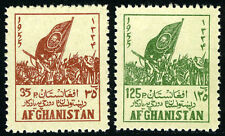 Afghanistan 433-434, MNH. Tribal Elders' Council, Pashtun Flag, 1955