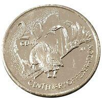 Australia 2001 Federation Centenary WA 20c  Uncirculated Coin Loose - RAM