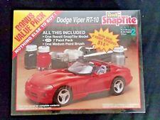 vtg 1992 Revell 1:25 Scale Model Kit Dodge Viper Rt-10 Factory Sealed New