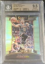 TRAE YOUNG 2018-19 Select Neon Green Prizm ROOKIE RC 15/75! BGS 9.5 Gem Mint