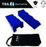 2 x BLUE 3 Stage Levelling Ramps with BAG Caravan RV steps Levellers accessories