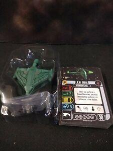 Star Trek Attack Wing I R W TERIX, D'DERIDEX CLASS Starship OP Prize NEW