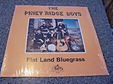 "The Piney Ridge Boys ""Flat Land Bluegrass"" KING RECORDS LP KB-553 ASHLAND, IL"
