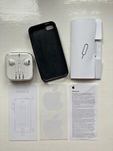 iphone SE 2016 Accessories - Used Case, Unused Never Opened Headphones (3.5mm)