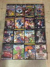 GAMECUBE HUGE GAMES LOT! TESTED!