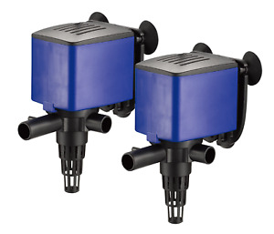 2x 320 GPH Powerhead Submersible Pump Aquarium Fish Tank Undergravel Filter Oxy