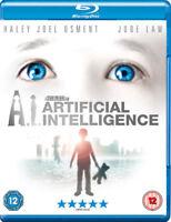 A.I. Blu-Ray (2011) Haley Joel Osment, Spielberg (DIR) cert 12 ***NEW***