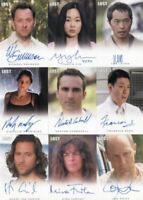Lost Seasons 1-5 Autograph Card Set 34 Cards