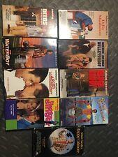 Lot Of 9 Adam Sandler VHS Tapes Billy Madison Happy Gilmore Wedding Singer