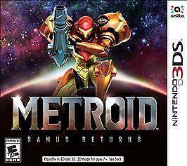 Metroid: Samus Returns (Nintendo 3DS, 2017)