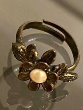 Michel Negrin Flower Ring