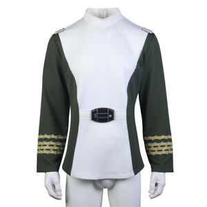 Cosplay Star Trek TOS Voyager Captain Kirk Starfleet Uniform Jacket and Pants