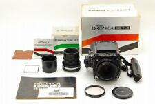 【SUPER RARE!!TOP MINT】Zenza Bronica EC-TL II W/Nikkor P.C 75mm F/2.8 and More