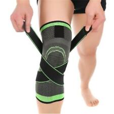 Weaving Knee Brace Pad Support Protects Compression Fit Running Jogging Sport LP