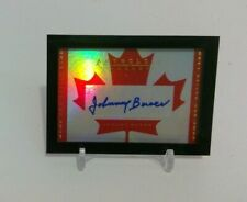 2014-15 Panini Anthology Johnny Bower Home and Native Land Autograph SP/122