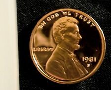 1981-s proof lincoln cent