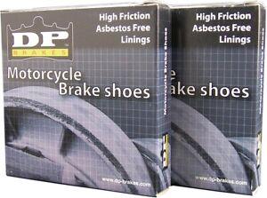 DP Brakes GF Friction Rated Brake Shoes 9108
