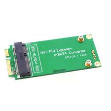 mSATA SSD to Mini PCI-E SSD mSATA to PCI Express Converter Card Adapter