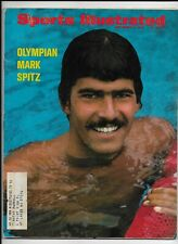A Sports Illustrated Magazine ~ September 4 1972 ~ Olympian Swimmer Mark Spitz