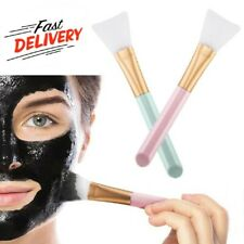 2 PCS Silicone Face Mask Brush For Women Beauty Facial Mud Applicator Tool Soft