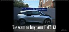 BMW i3 E ( 170bhp ) Auto Extended Range WE WOULD LIKE TO BUY YOUR i3