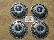 1975-80 Lincoln Mark Series, Versailles Aluminum Wheel Center Caps, Set Of 4