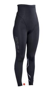 2XU Womens Post-Natal Sport Compression Tights  - Small - Black/Silver Brand new