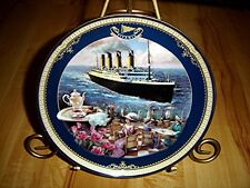 TITANIC QUEEN OF THE OCEAN The Cafe Parisien plate