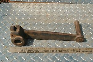 Rare Original Witte Diesel 6-12 HP Hit Miss Gas Engine Cast Iron Hand Crank
